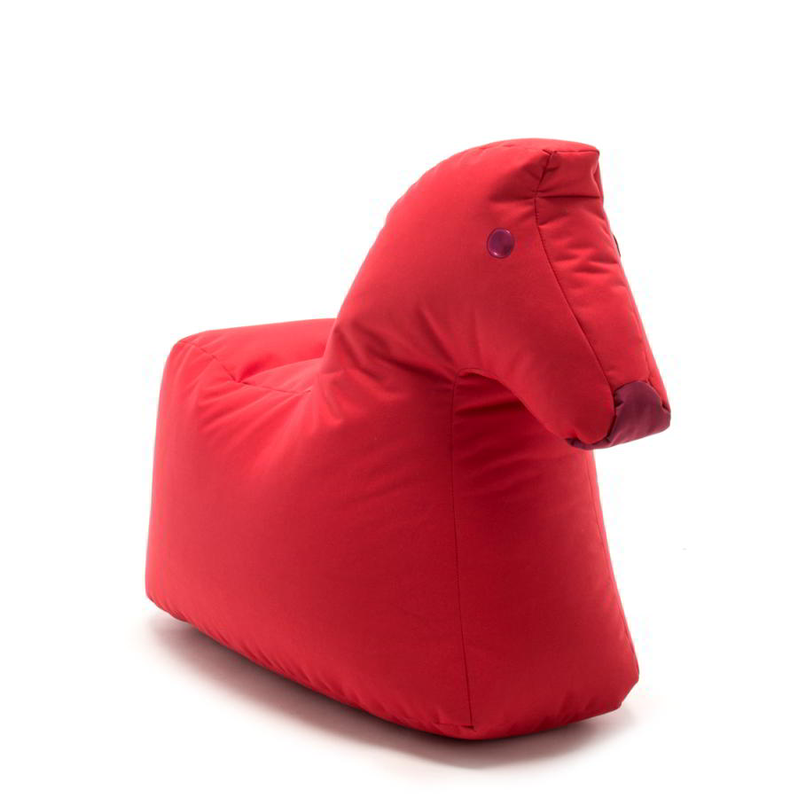 Pferd LOTTE Kindersitzsack aus Happy Zoo, flammenrot