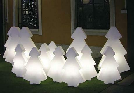 LIGHTREE beleuchteter Weihnachtsbaum, Gehäuse weiß
