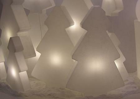 LIGHTREE beleuchteter Weihnachtsbaum, Nahaufnahme