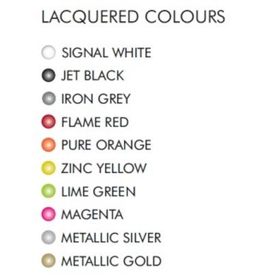 GIO Blumentopf Farbpalette lackiert