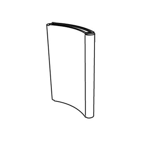 GIO WIND Raumteiler, die Form
