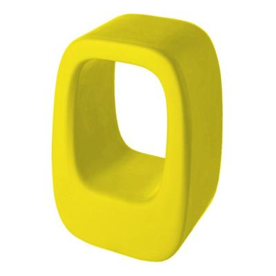LAZY BONES Hocker und Beistelltisch gelb