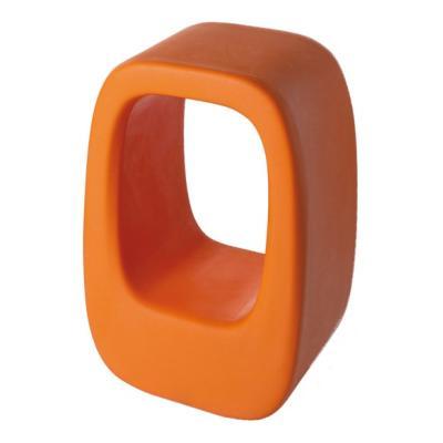 LAZY BONES Hocker und Beistelltisch orange