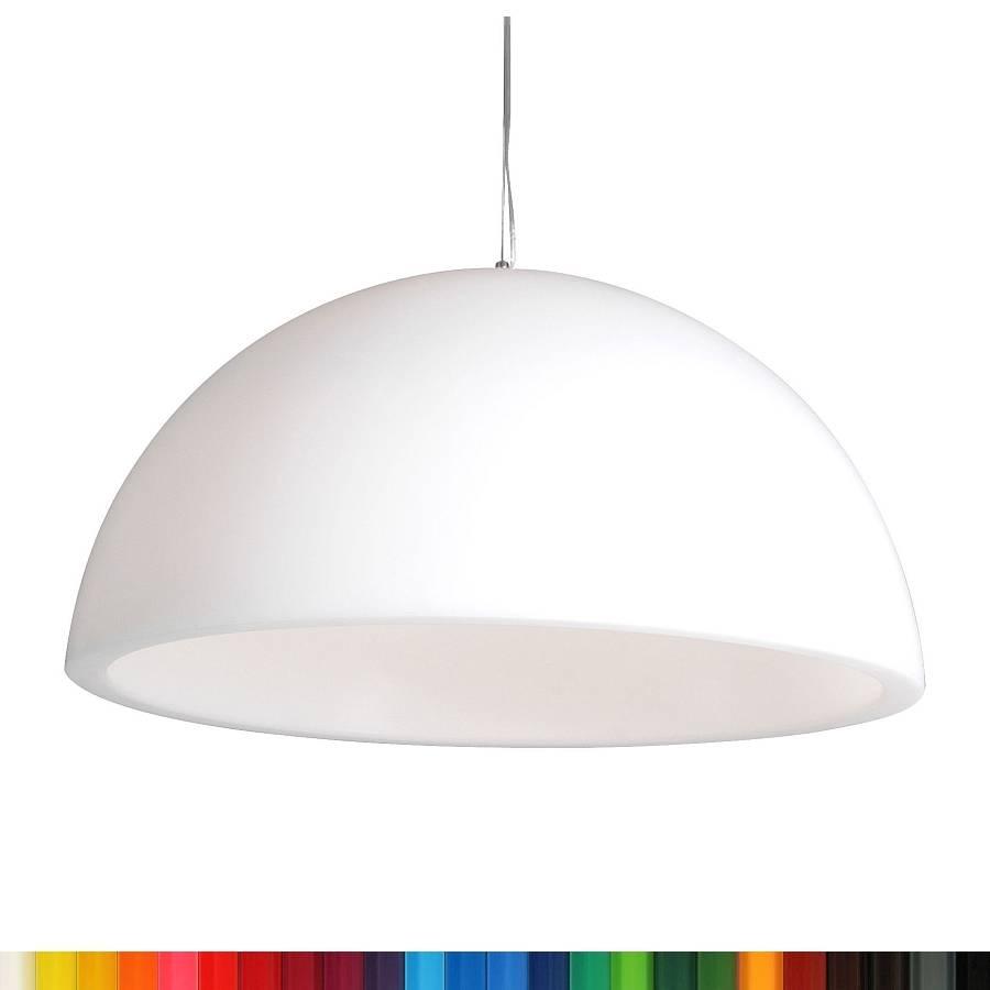 CUPOLE Pendelleuchte Ø 80 cm, Höhe 40 cm, Farbe nach Kundenwunsch