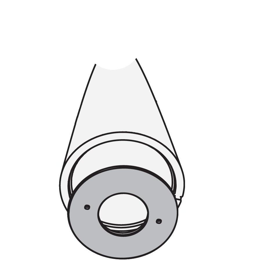Countergewicht Stahl Ø 50 cm, für PIVOT Stehleuchte