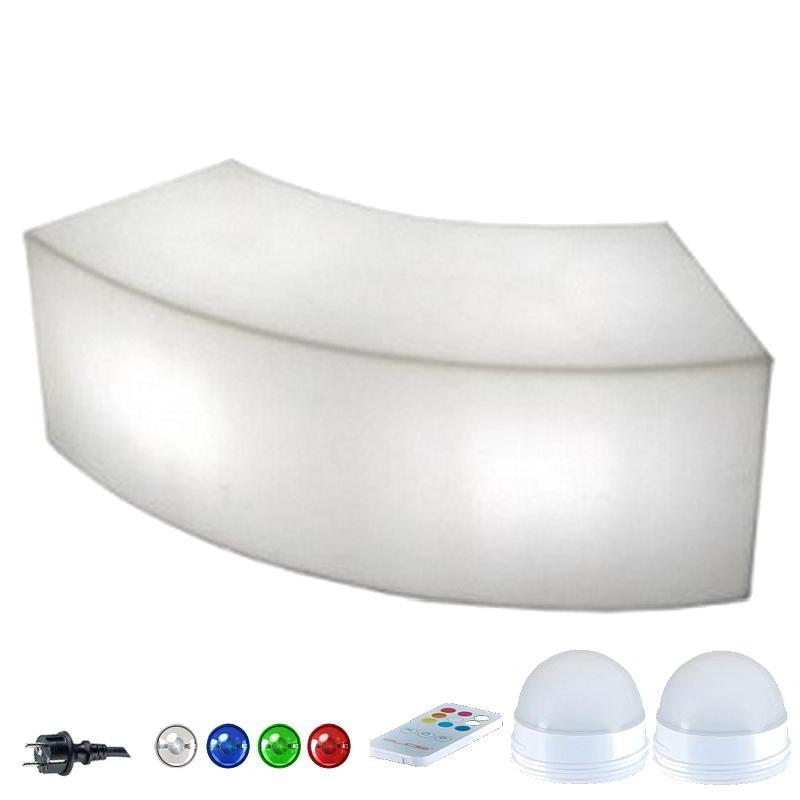 snake beleuchtete bank von slide design bei. Black Bedroom Furniture Sets. Home Design Ideas