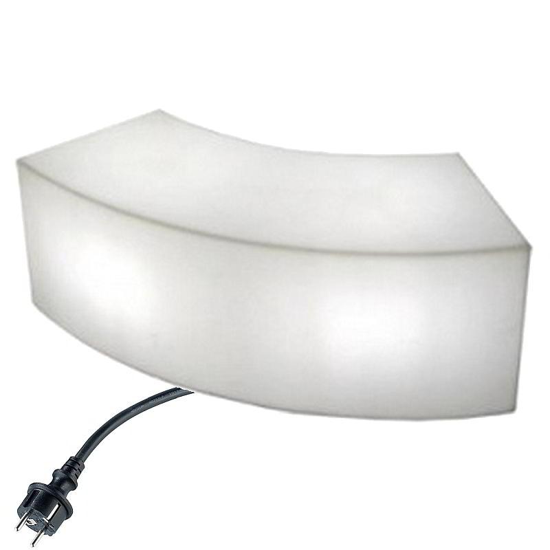SNAKE Sitzbank Outdoor für Ernergiesparlampe