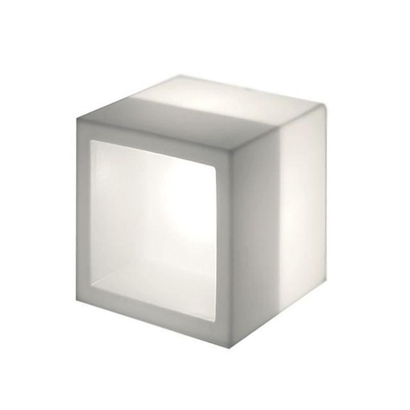 OPEN CUBE 43 Leuchtwürfel / Leuchtregal weiß