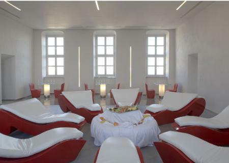ROCOCO Relaxliege beleuchtet