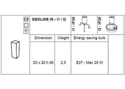 IO Leuchtsäule INDOOR - Technische Daten