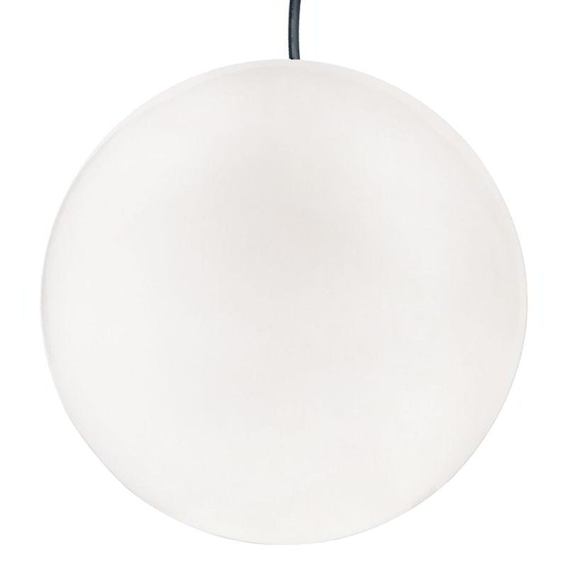 GLOBO HANGING Pendelleuchte Outdoor glänzend weiß Ø 40 cm