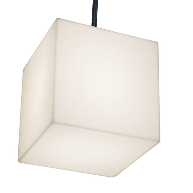 CUBO HANGING Pendelleuchte 30 Outdoor weiß