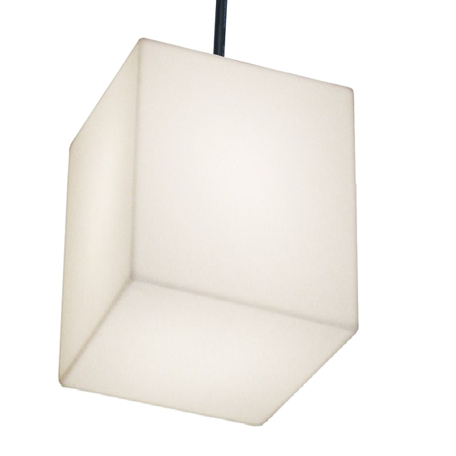 CUBO HANGING Pendelleuchte 50 Outdoor weiß