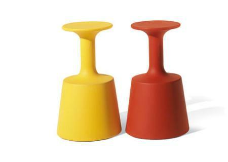 DRINK Barhocker gelb und orange