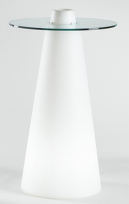 PEAK beleuchteter Stehtisch 120 cm hoch