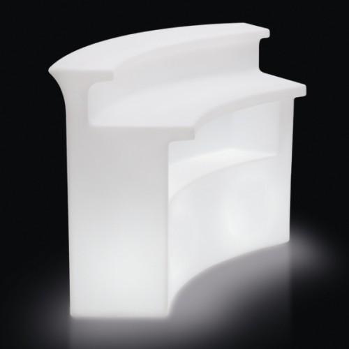 BREAK BAR beleuchtet mit ESL-Beleuchtung (Lampen nicht im Lieferumfang enthalten)