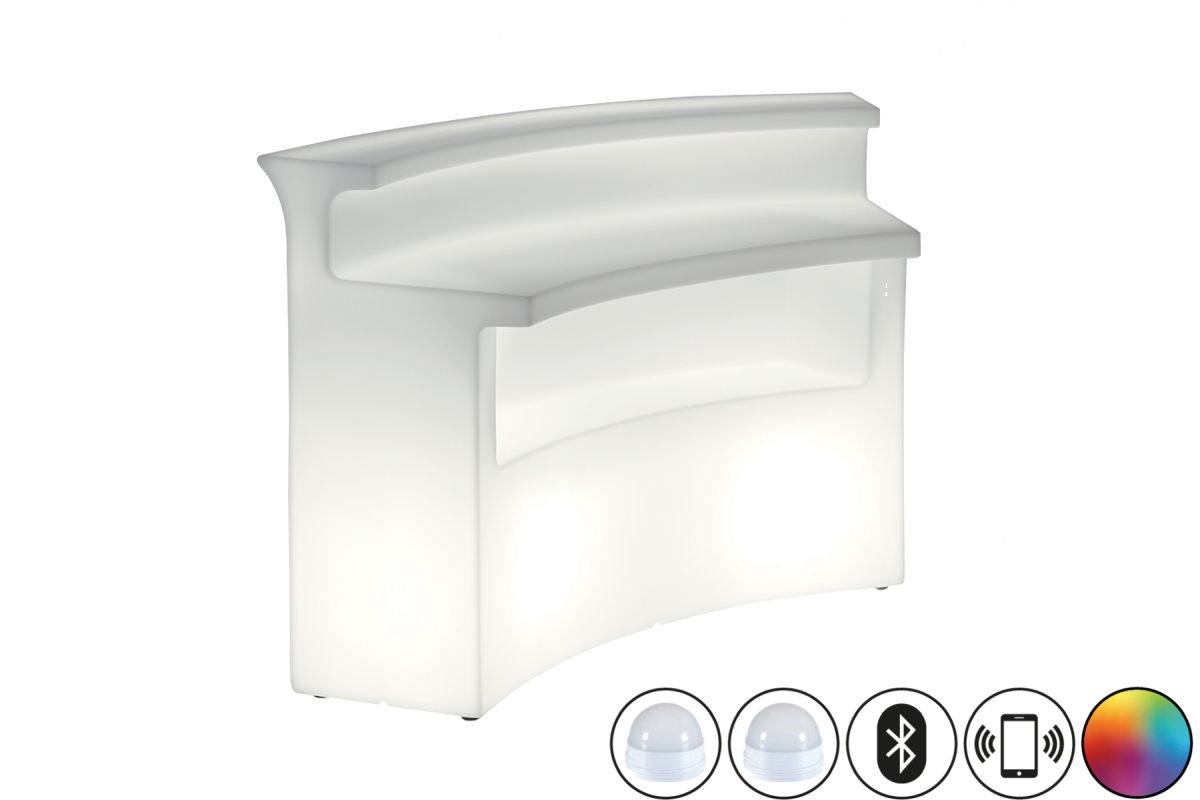 BREAK BAR mit LED-Leuchtmittel CANDY LIGHT Hochleistungsakku