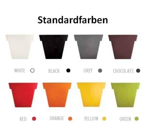 Slide Farben für Polyethylen durchgefärbt