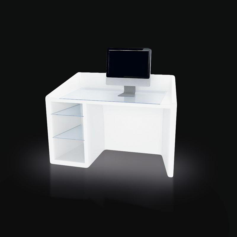 KANAL Schreibtisch beleuchtet