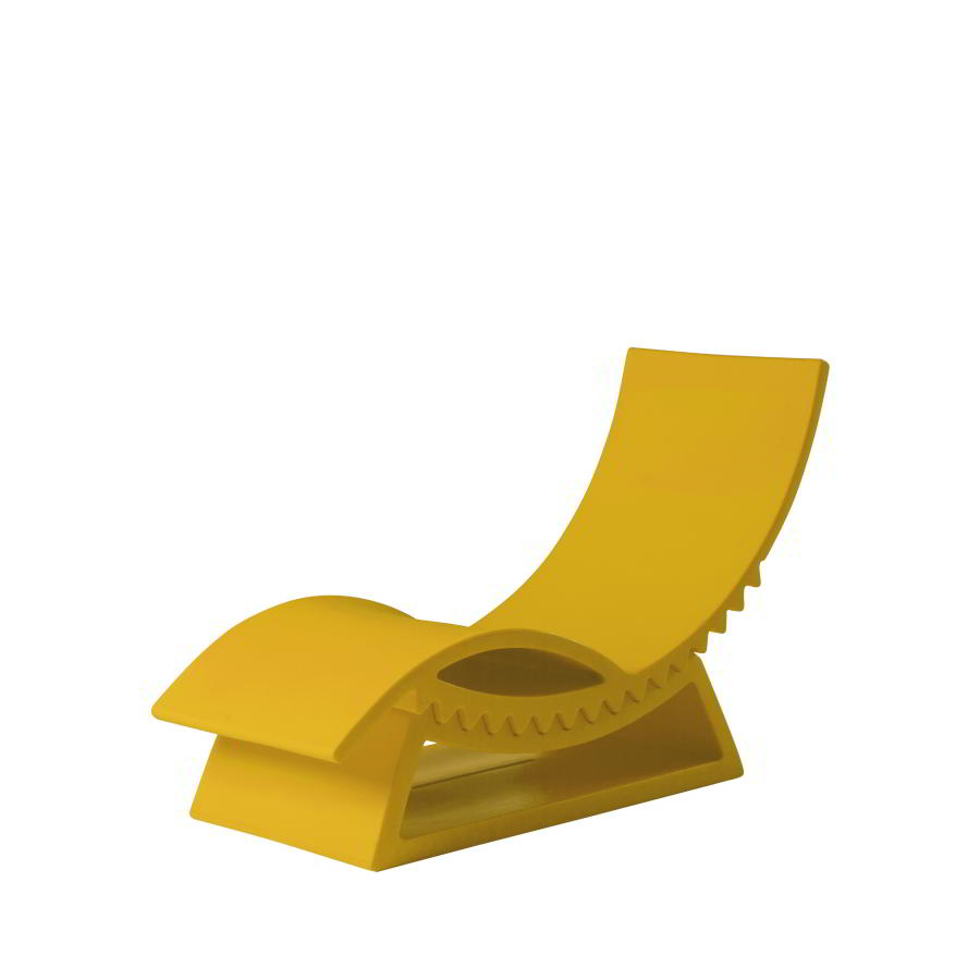 Tic Tac Gartenliege safran gelb