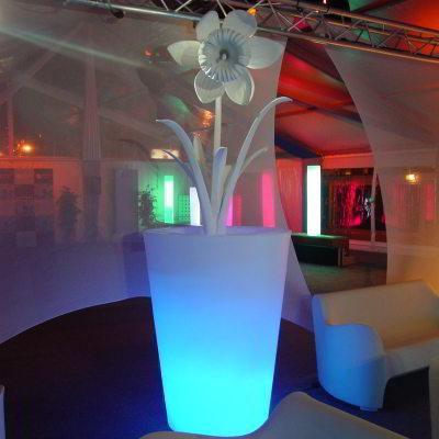 X-POT LIGHT Blumentopf