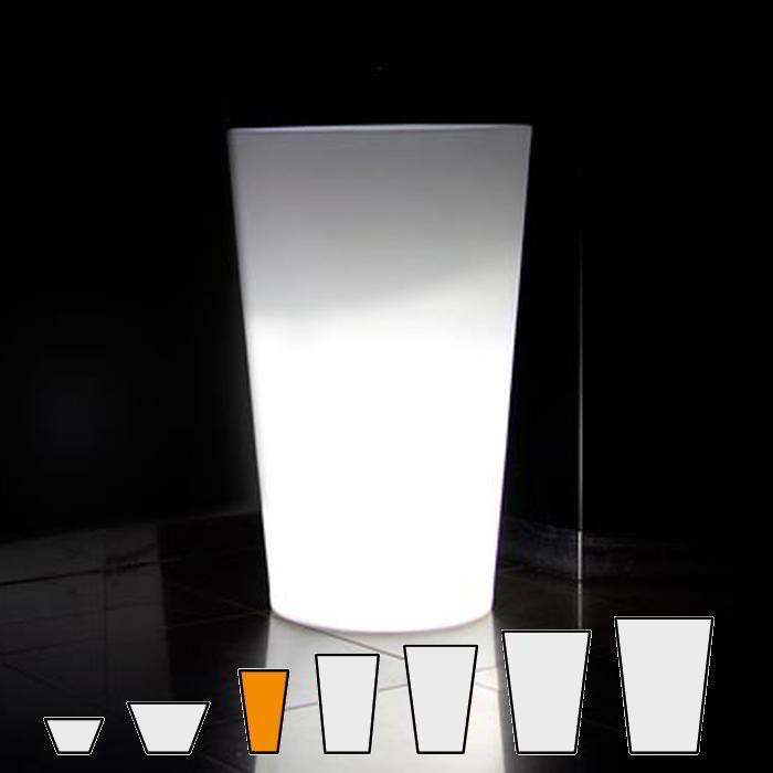 X-POT LIGHT Blumentopf Höhe 83 cm