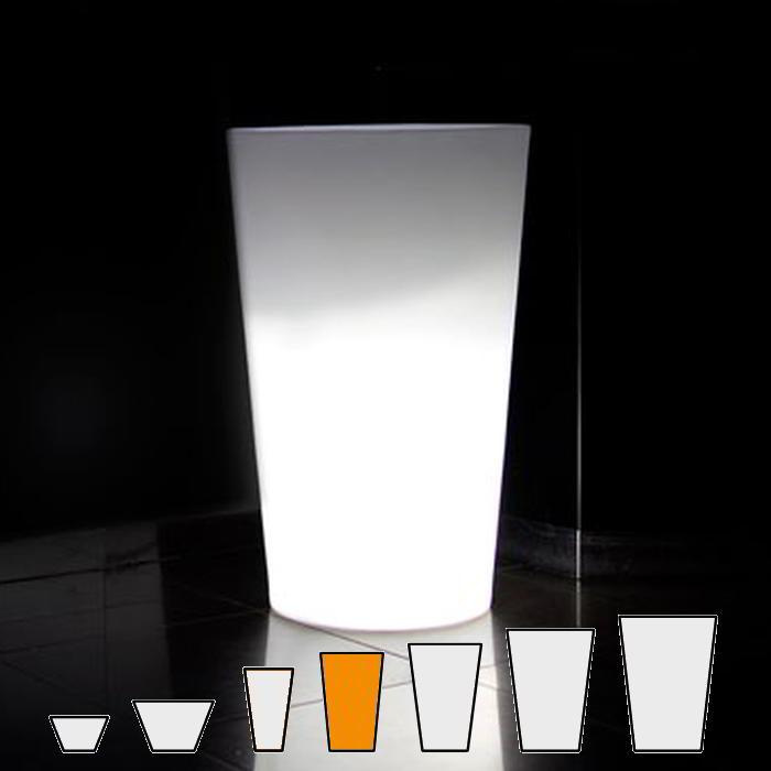 X-POT LIGHT Blumentopf Höhe 98 cm