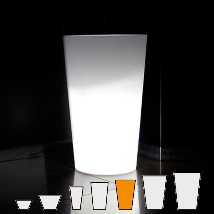 X-POT LIGHT Blumentopf Höhe 107 cm