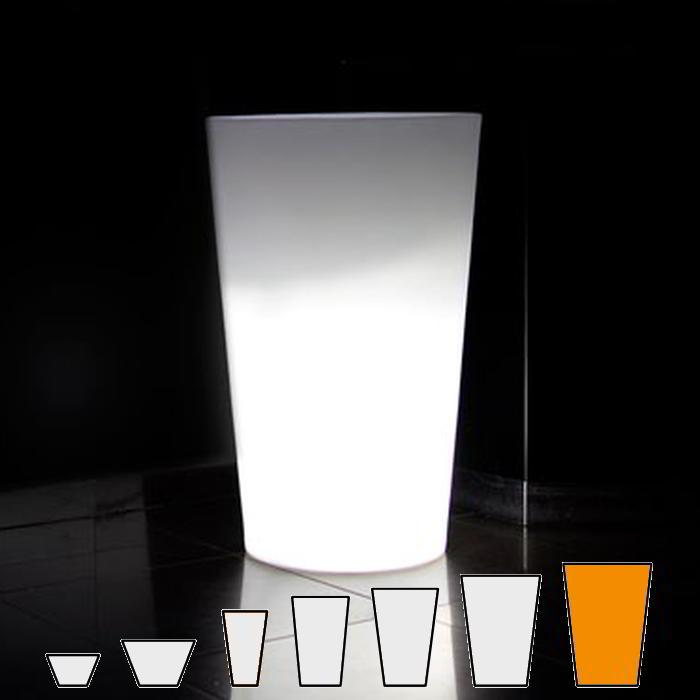 X-POT LIGHT Blumentopf Höhe 135 cm