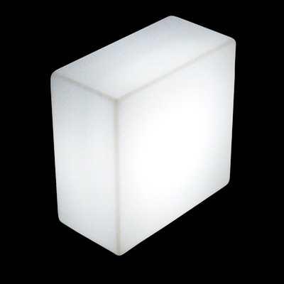 QUADRO Leuchtbaustein, kann auch hingelegt werden