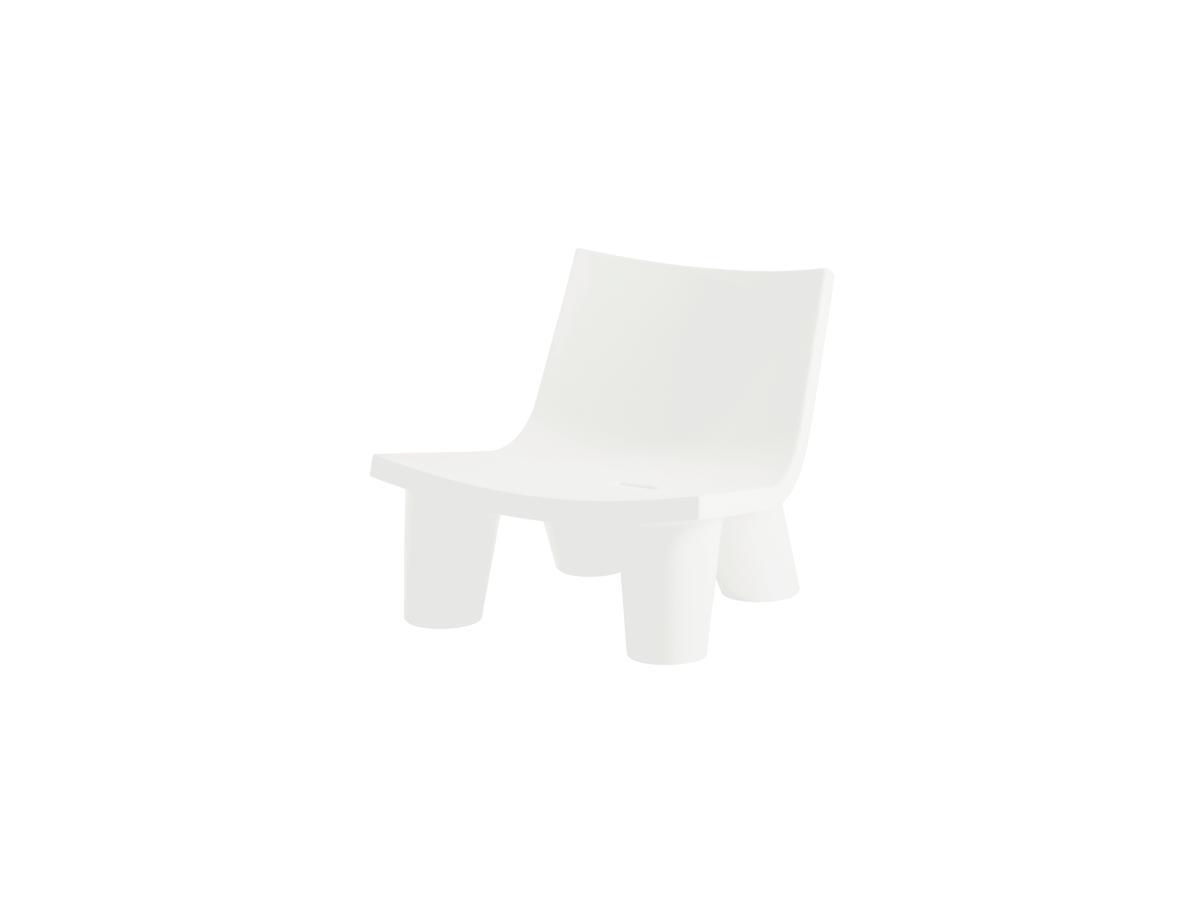 LOW LITA Gartensessel milky white