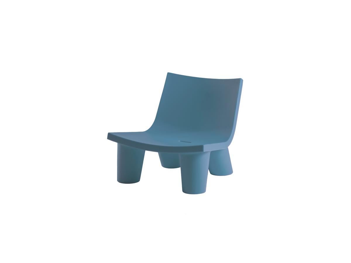 LOW LITA Gartensessel powder blue