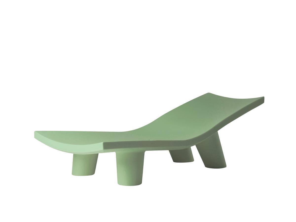 LOW LITA Lounge Gartenliege lime green
