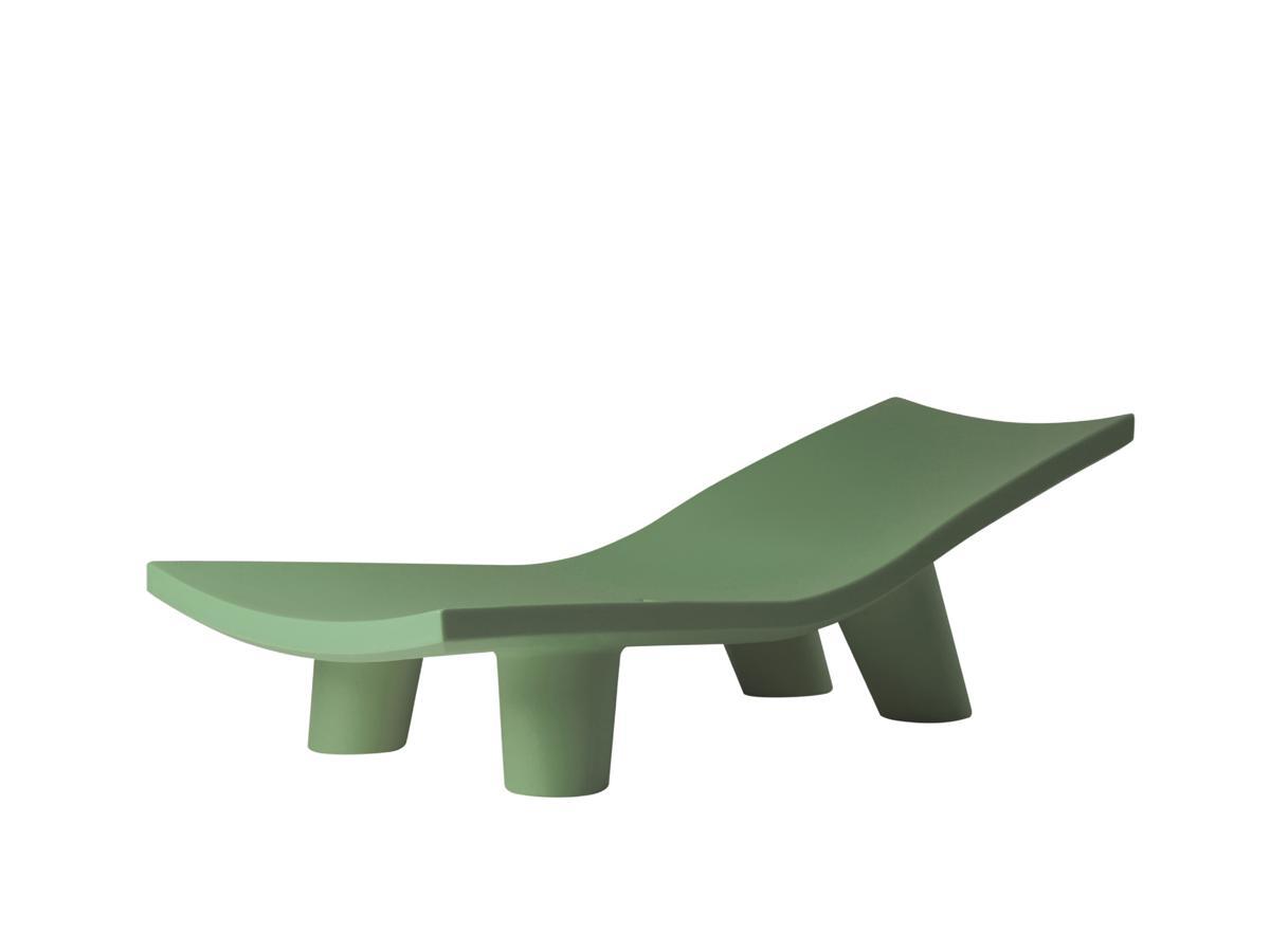 LOW LITA Lounge Gartenliege malva green