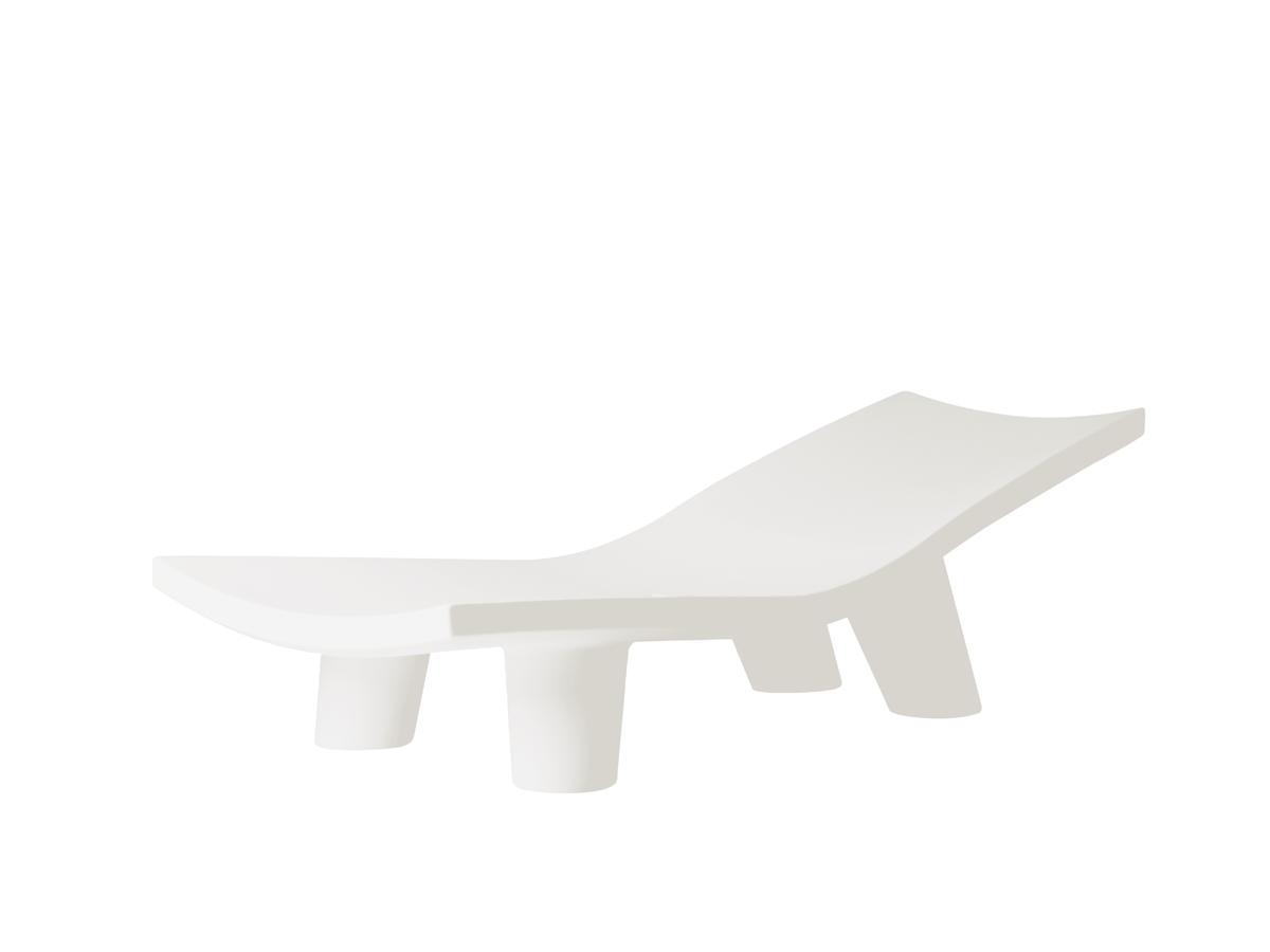 LOW LITA Lounge Gartenliege milky white
