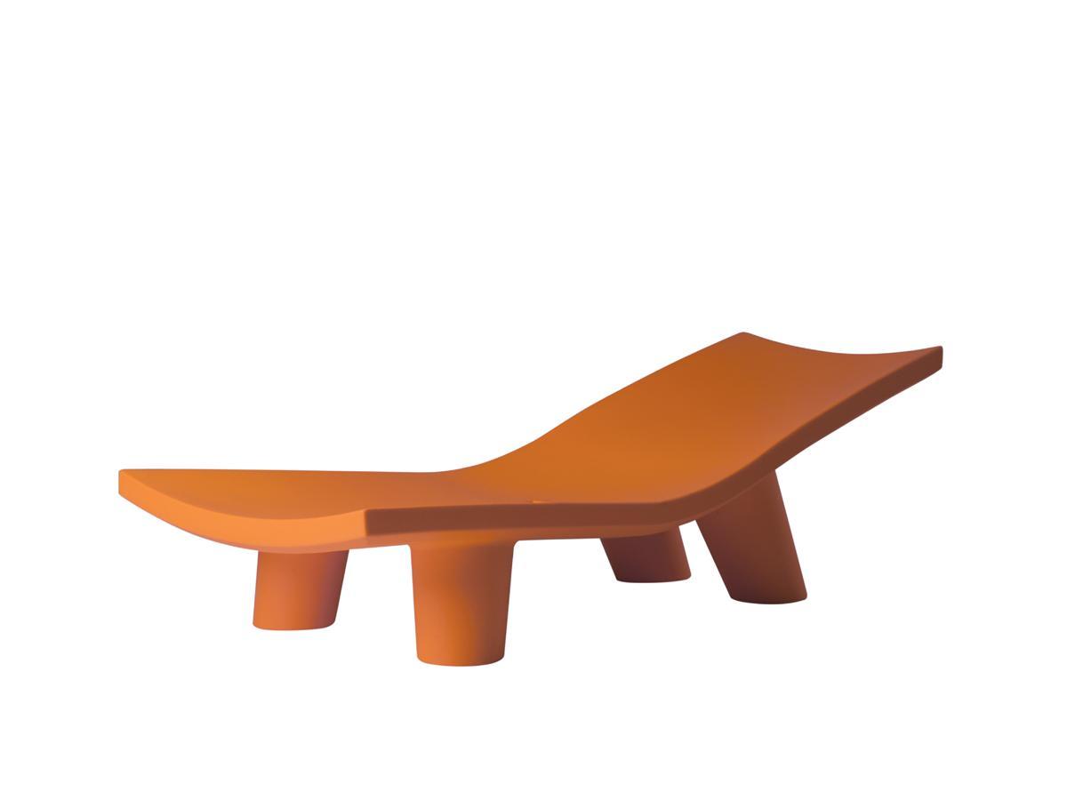 LOW LITA Lounge Gartenliege orange