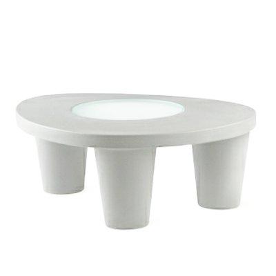 LOW LITA Tisch weiß