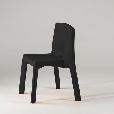 Q4 Stuhl schwarz in Standard-Farbe von slide