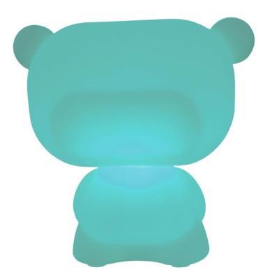 PURE beleuchteter Teddybär blau