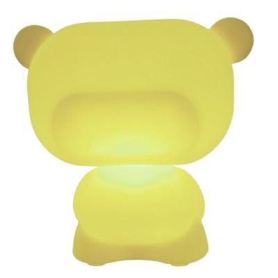 PURE beleuchteter Teddybär gelb