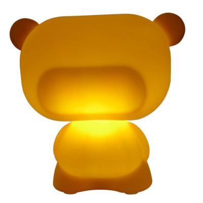 PURE beleuchteter Teddybär orange