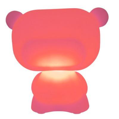 PURE beleuchteter Teddybär rot