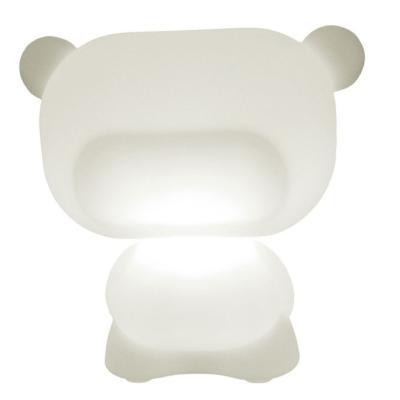 PURE beleuchteter Teddybär weiß