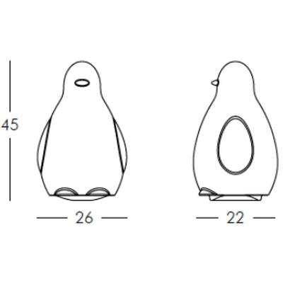 KoKo Leuchtpinguine Maße