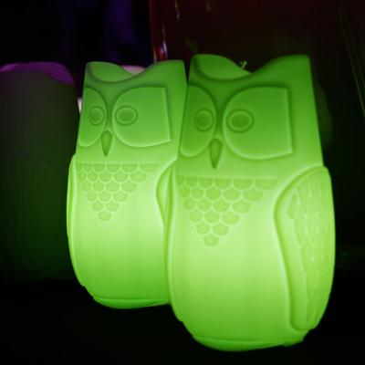 BUBO Leuchtuhu mit LED-Beleuchtung