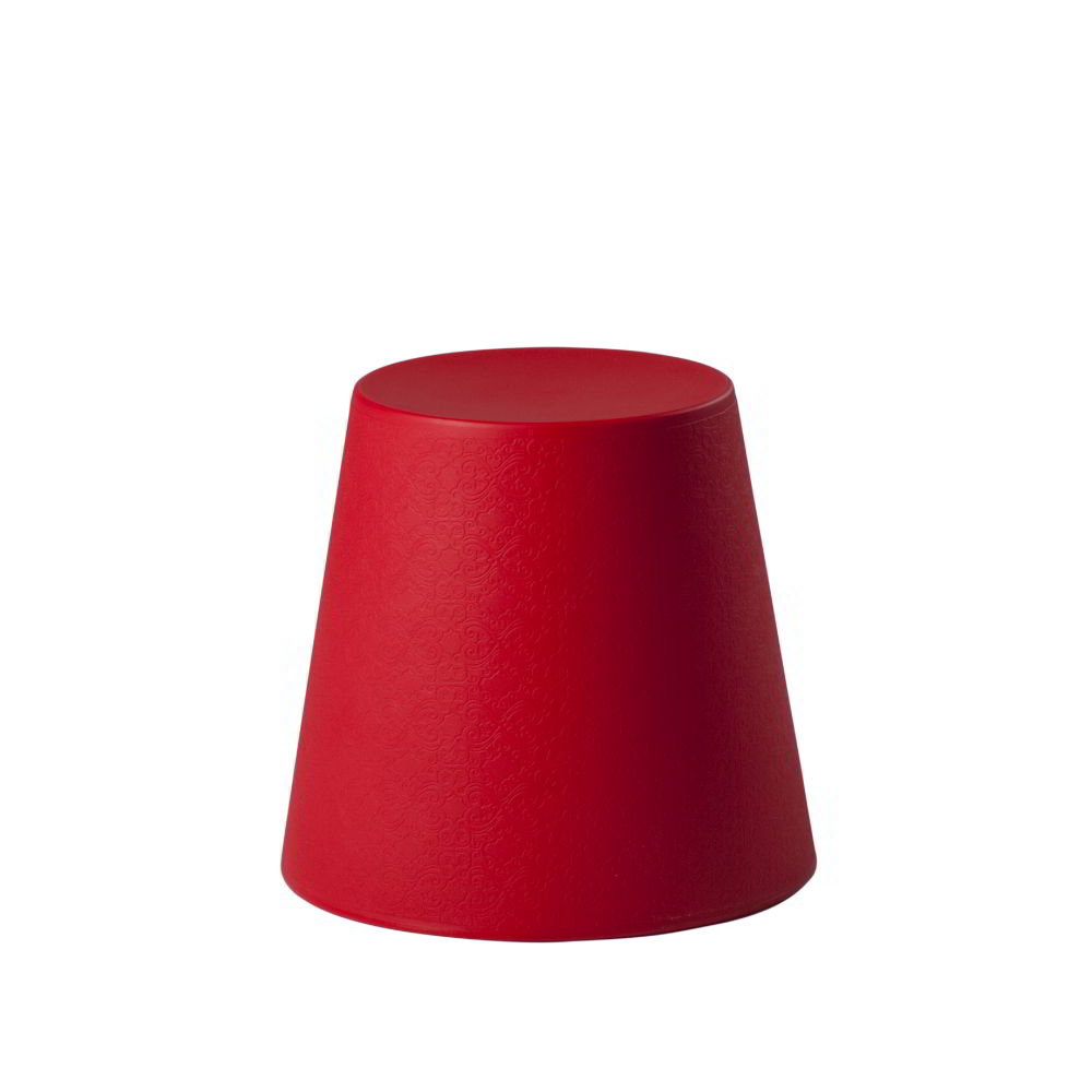 ALI BABA STOOL Hocker flammenrot