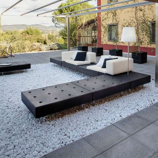 HAPPY LIFE Gartensofa, große Anordnung