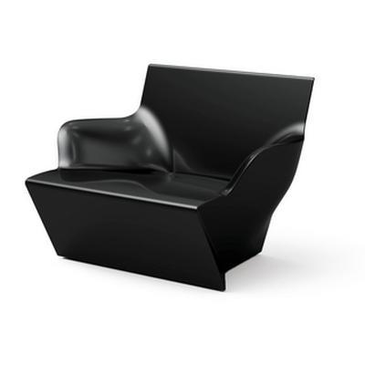 KAMI San Sessel schwarz matt lackiert
