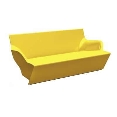 KAMI YON Gartensofa Hochglanz gelb