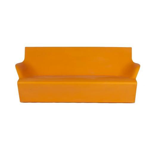 KAMI YON Gartensofa orange Frontansicht